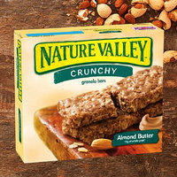 Nature Valley Crunchy Granola Bars in Almond Butter