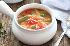 Hungry Girl's Healthy Chicken No-Noodle Soup with Veggies Recipe