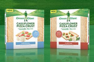 Green Giant Cauliflower Pizza Crusts