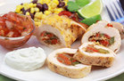 Hungry Girl's Healthy Fajita-Stuffed Chicken Recipe