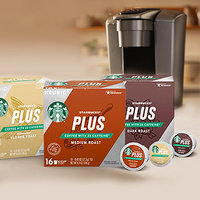 Starbucks Plus 2X Caffeine K-Cup Pods