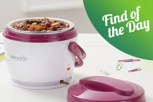Amazon Find of the Day: Pink Crock-Pot Lunch Crock Food Warmer