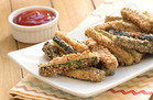 Hungry Girl's Healthy Crispy Zucchini Fries Recipe