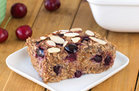 Hungry Girl's Healthy Cherry Pie Oatmeal Bake Recipe