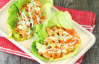 Hungry Girl's Healthy Deconstructed Buffalo Wing Lettuce Wraps Recipe