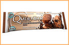 100-Calorie Chocolate Fixes: 1/2 of a Double Chocolate Chunk Quest Bar