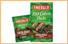 100 Calorie Chocolate Fixes: Emerald 100-Calorie Pack Cocoa Roast Almonds