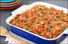 Hungry Girl's Healthy Mexican Baked Ziti Recipe