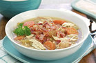 Hungry Girl's Healthy Bacon Apple Chicken Stew Recipe
