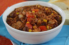 Hungry Girl's Healthy EZ as 1-2-3-Alarm Turkey Chili Recipe