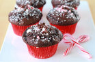 Hungry Girl's Healthy Chocolate Peppermint Cupcakes Recipe
