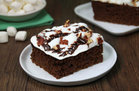 Hungry Girl's Healthy Mississippi Mud Pie Brownies Recipe