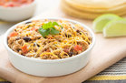 Hungry Girl's Healthy Scoopable Slow-Cooker Chicken Burritos Recipe