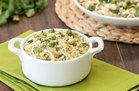 Hungry Girl's Healthy Salsa Verde Chicken with Cauliflower Rice Recipe