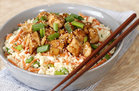 Hungry Girl's Healthy Teriyaki Chicken Cauli' Rice Bowl Recipe