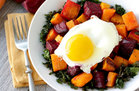 Hungry Girl's Healthy Roasted Veggie Egg Power Bowl Recipe