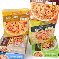 Cheating Gourmet Crafted Seafood Shrimp Rice Bowls