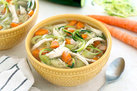 Hungry Girl's Healthy Instant Pot Chicken Zoodle Soup Recipe