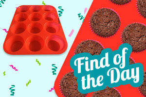 Amazon Find of the Day: Keliwa 12-Cup Silicone Muffin Pan