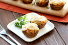 Hungry Girl's Healthy French Onion Meatloaf Minis Recipe