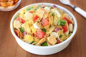 Healthy Recipes with Large Portion Sizes: Italian Spaghetti Squash Salad