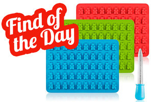 Amazon Find of the Day: SENHAI 3 Pack Gummy Bear Candy Silicone Molds