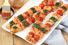 Hungry Girl's Healthy Saucy BBQ Seafood Skewers with Not-So-Secret BBQ Sauce Recipe