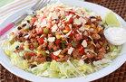 Hungry Girl's Healthy Turkey Taco Salad Recipe