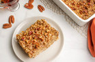 Hungry Girl's Healthy Pecan Pie Oatmeal Bake Recipe