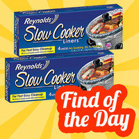 Amazon Find of the Day: Reynolds Slow Cooker Liners 2 Pack