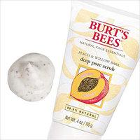 Burt's Bees Peach & Willow Bark Deep Pore Scrub