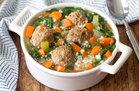 Hungry Girl's Italian Wedding Soup with Cauliflower Rice Recipe