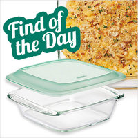Amazon Find of the Day: OXO Good Grips Freezer-to-Oven Safe 2 Qt Glass Baking Dish with Lid