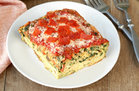 Hungry Girl's Healthy Deep-Dish Pizza Egg Bake Recipe