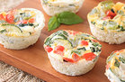 Hungry Girl's Healthy Roasted Veggie Egg Muffins Recipe