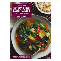 Trader Joe's Spicy Thai Eggplant with Thai Basil