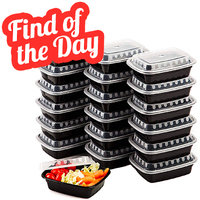 Amazon Find of the Day: Premium Small Meal Prep Containers (Microwave and Freezer Safe)