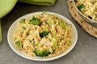 Hungry Girl's Healthy Cheesy Broccoli Cauli' Rice Recipe