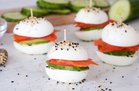 Hungry Girl's HealthyBagels & Lox Egg 'wiches Recipe