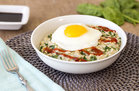 Hungry Girl's Healthy Sunny Morning Savory Oats Recipe