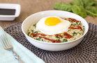 Hungry Girl's Healthy Sunny Morning Savory Oats Recipe