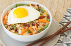 Hungry Girl's Healthy Cauliflower Fried Rice Breakfast Bowl Recipe