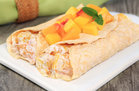 Hungry Girl's Healthy Tropical Fruit Crepes Recipe