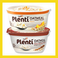 Yoplait Plenti Oatmeal Meets Greek Yogurt