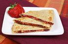 Hungry Girl's Healthy Rais' the Roof PB&J Quesadilla Recipe