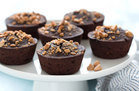 Flourless PB Chocolate Cakes