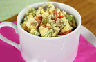Healthy Veggie Eggs-plosion Mug Recipe