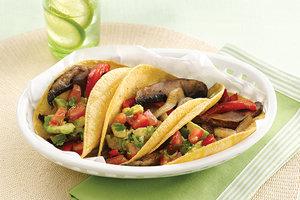 Healthy 'Bella Asada Fajitas Recipe