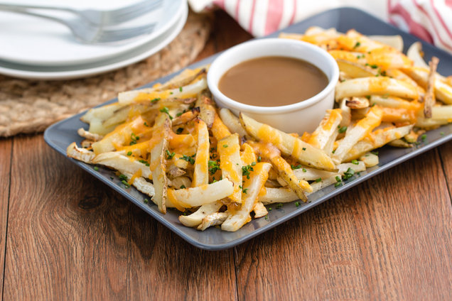 Hungry Girl's Healthy Turnip The Disco Fries Recipe