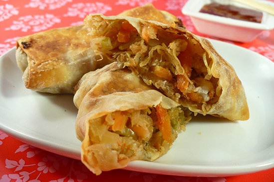 Healthy Shrimp Egg Rolls Recipe